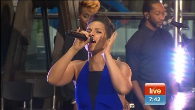 Alicia Keys LIVE on Sunrise!