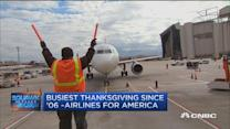 Airlines prepare for Thanksgiving travel