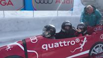 Bobsledding with Hot Guys in St. Moritz