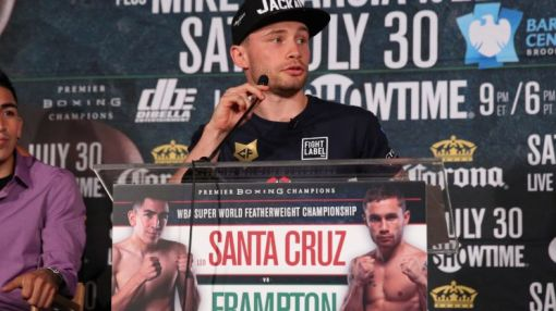 Carl Frampton setting example for other elite boxers by pursuing tough fights