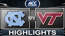 North Carolina vs Virginia Tech | 2013 ACC Football Highlights