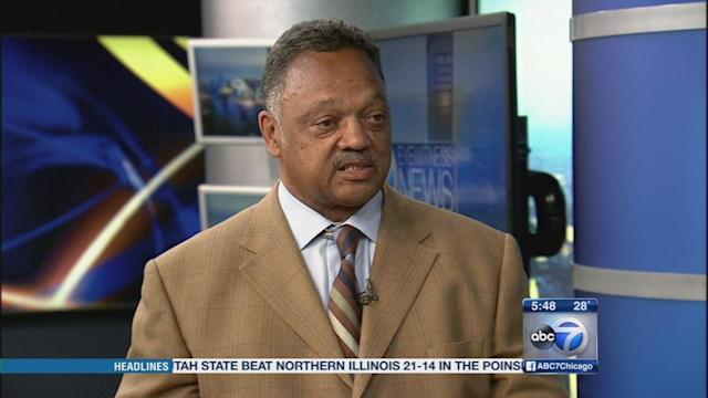 Rev. Jesse Jackson demands changes for inmates at Cook County Jail