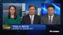 Three analyst views on Tesla