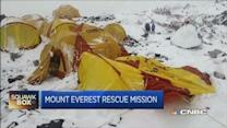 Major rescue underway on Mount Everest