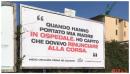 "Coronavirus, manifesti choc a Cagliari: ""Campagna per riflettere"""