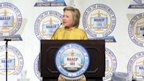 Clinton slams Trump's 'birther' movement against Obama