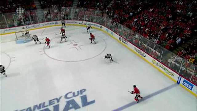 Did the Stanley Cup Finals peak in Game 1?