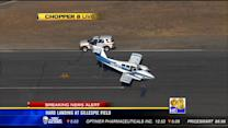Light plane makes hard landing at Gillespie Field