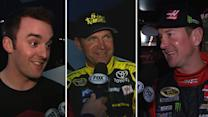 Drivers stay busy during Daytona rain delay