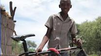 Locals team up to send bikes to HIV-positive kids