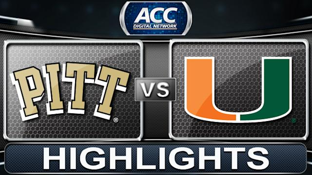 Pittsburgh vs Miami | 2014 ACC Basketball Highlights