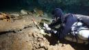 Prehistoric ochre mining operation found in submerged Mexican caves