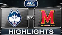 UCONN vs Maryland | 2013 ACC Basketball Highlights