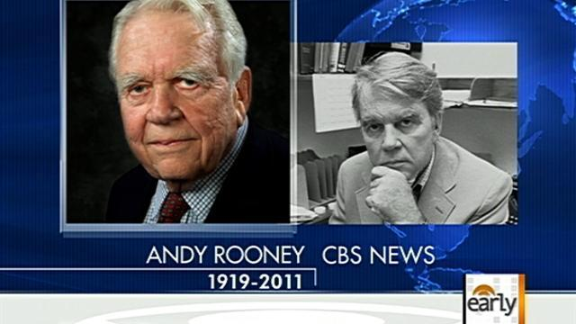 Andy Rooney remembered on