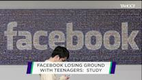 New study finds Facebook use down among 13-17 year olds