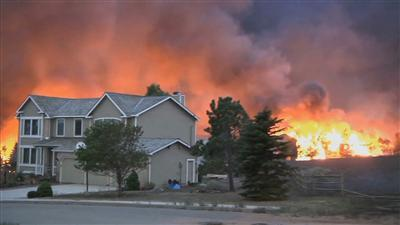 First Person: Fighting the Colorado Springs Fire