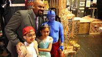 'Aladdin's' Genie Grants Children's Wishes