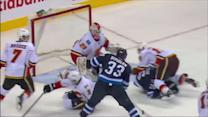 Dustin Byfuglien hammers it home