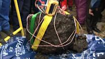 Divers recover biggest piece of meteorite that crashed into Russia