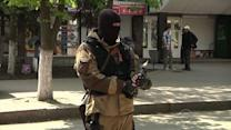 Pro-Russia separatists wait for Ukraine to make its move