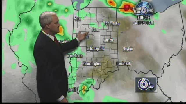 Cooler Temps, Scattered Showers Dampen Weekend