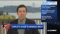 Apple's huge earnings beat