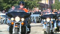 Fallen Chicago Police Officers Honored At Motorcycle Ride