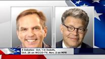 Franken, McFadden Settle On 3 Debates