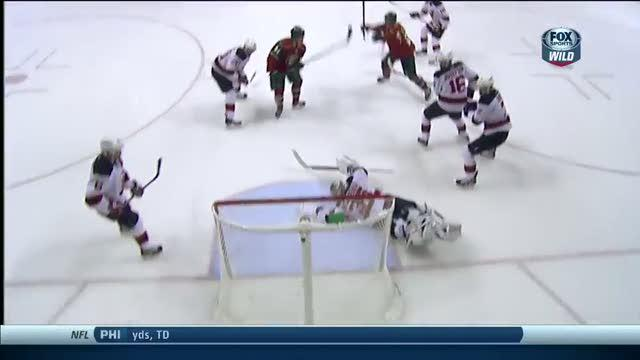 Mikael Granlund scores his first of the year
