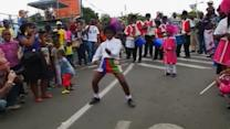Soweto children dance their hearts out in honor of Mandela