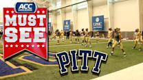 Pitt Ends Spring Football With Intense Dodgeball Match | ACC Must See Moment