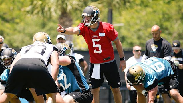 Should Blake Bortles start as a rookie?