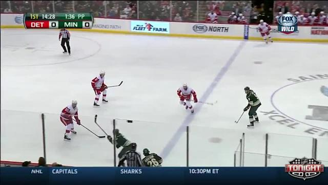 Detroit Red Wings at Minnesota Wild - 03/22/2014
