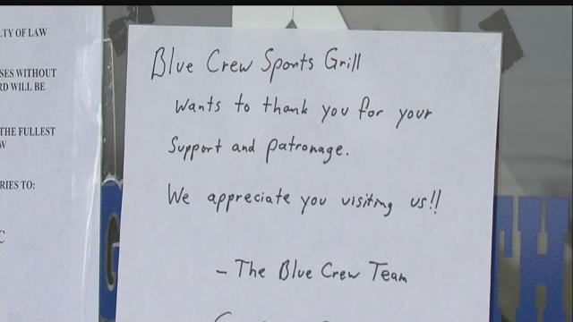 Blue Crew Grill's future still uncertain