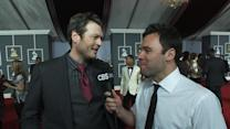 53rd Grammy Awards - Blake Shelton Interview