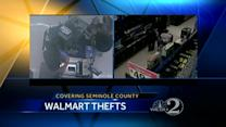 Couple uses rental van during Walmart theft, Sanford, Fla. police say