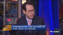 AT&T, Time Warner CEOs say mega-merger is all about speed and mobility