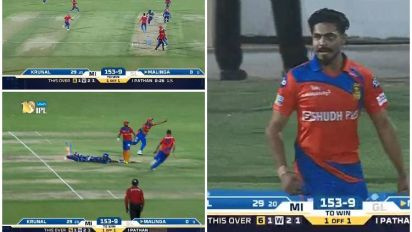 IPL 2017, GL vs MI: Gujarat's spree of direct hits leading to a Super Over is SK Play of the Match