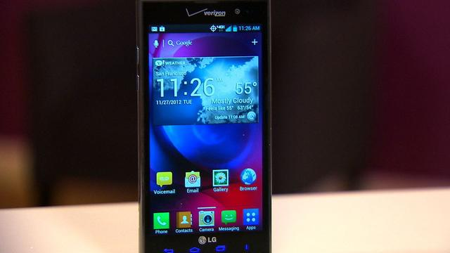 Verizon's LG Spectrum 2 delivers NFC and wireless charging