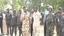 President Goodluck Jonathan Pays Visit to Troops Fighting Boko Haram