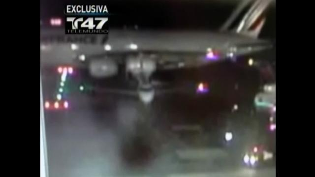 Caught on tape: Planes collide at JFK