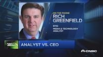 Analyst responds to Liberty CEO's criticism
