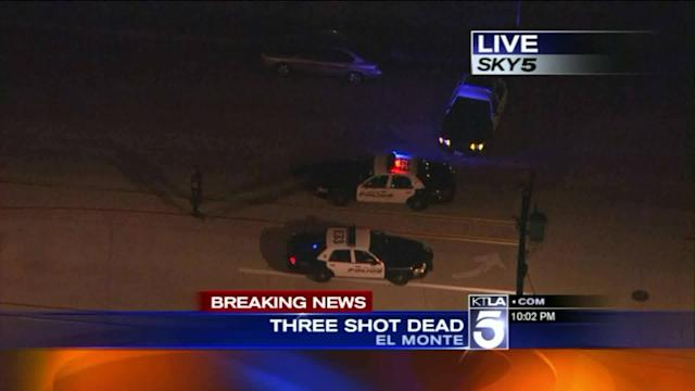3 Dead in Shooting at El Monte Home