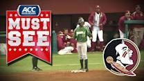 Florida State Ends Top Of the 5th With Bizarre Play vs Jacksonville | ACC Must See Moment