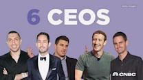 6 CEO's reach billion dollar success by age 30