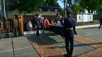 Memorial held for Ukrainian guardsman killed by grenade