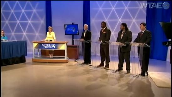 WTAE hosts mayoral debate