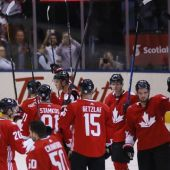 Upstart Team Europe to face Canada in ice hockey World Cup final