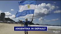 Argentina in default