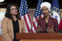 The Latest: Trump defends Israel move to bar 2 congresswomen